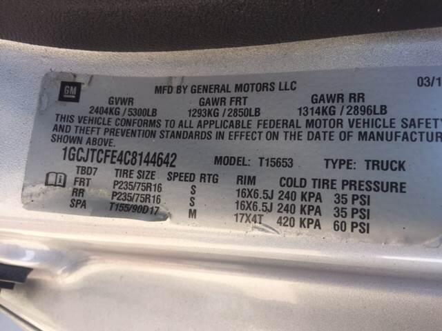 2012 Chevrolet Colorado for sale at TOWN & COUNTRY MOTORS INC in Meriden KS