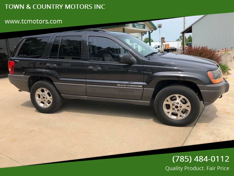 1999 Jeep Grand Cherokee For Sale At TOWN U0026 COUNTRY MOTORS INC In Meriden KS