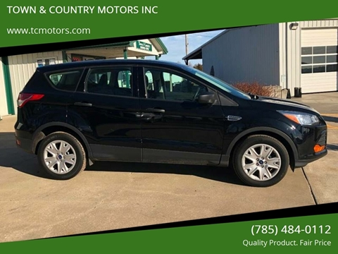 2016 Ford Escape for sale at TOWN & COUNTRY MOTORS INC in Meriden KS
