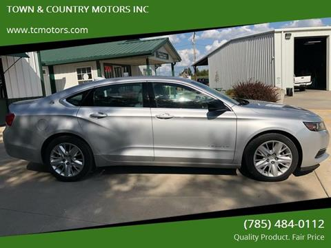 2015 Chevrolet Impala for sale at TOWN & COUNTRY MOTORS INC in Meriden KS