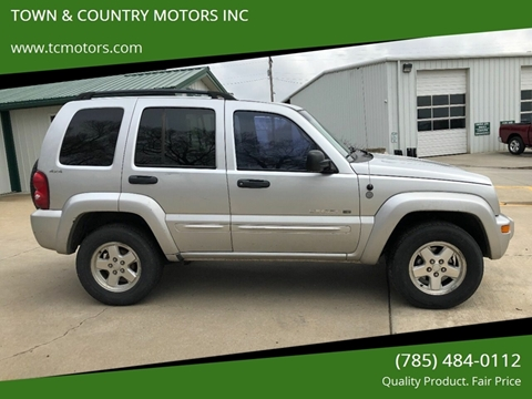 2002 Jeep Liberty for sale in Meriden, KS