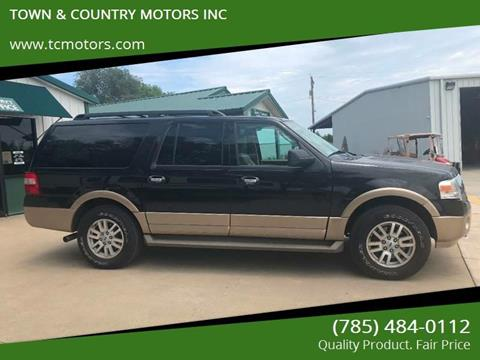 2014 Ford Expedition EL for sale at TOWN & COUNTRY MOTORS INC in Meriden KS