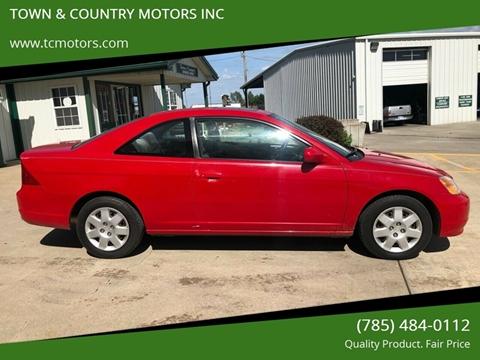 Town And Country Honda >> Honda Civic For Sale In Meriden Ks Town Country Motors Inc