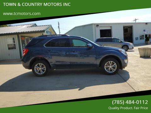 2016 Chevrolet Equinox for sale at TOWN & COUNTRY MOTORS INC in Meriden KS