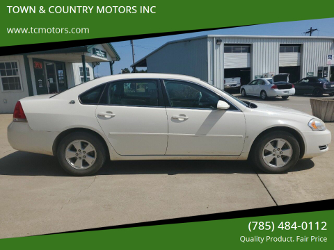 2008 Chevrolet Impala for sale at TOWN & COUNTRY MOTORS INC in Meriden KS