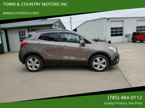 2015 Buick Encore for sale at TOWN & COUNTRY MOTORS INC in Meriden KS