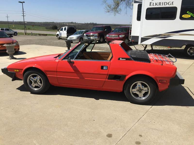 1979 FIAT X1-9 for sale at TOWN & COUNTRY MOTORS INC in Meriden KS