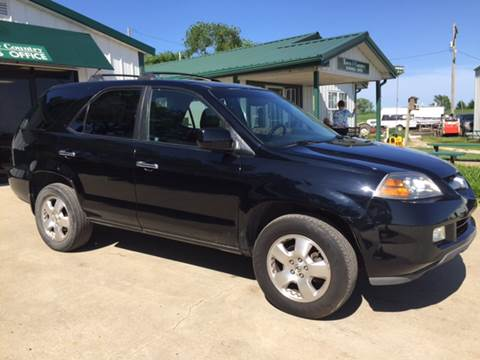 2006 Acura MDX for sale at TOWN & COUNTRY MOTORS in Meriden KS