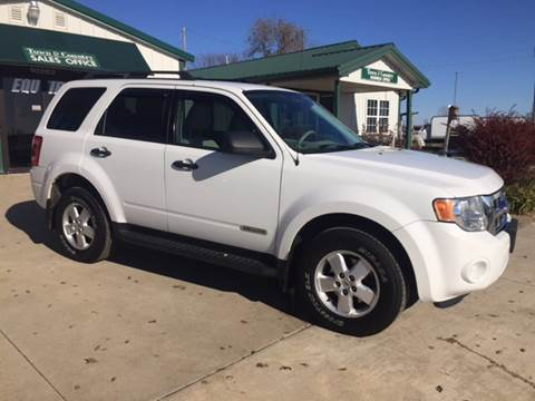 2008 Ford Escape for sale at TOWN & COUNTRY MOTORS in Meriden KS