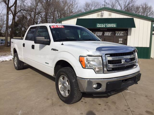 2014 Ford F-150 for sale at TOWN & COUNTRY MOTORS INC in Meriden KS