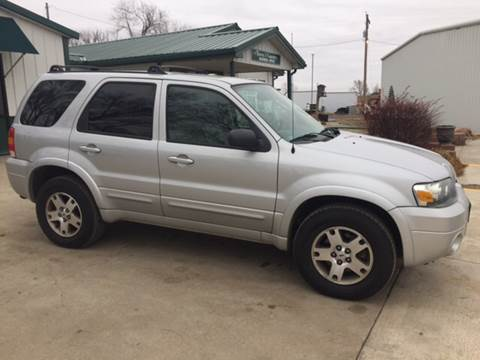 2005 Ford Escape for sale at TOWN & COUNTRY MOTORS INC in Meriden KS