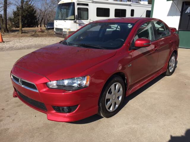 2015 Mitsubishi Lancer for sale at TOWN & COUNTRY MOTORS INC in Meriden KS