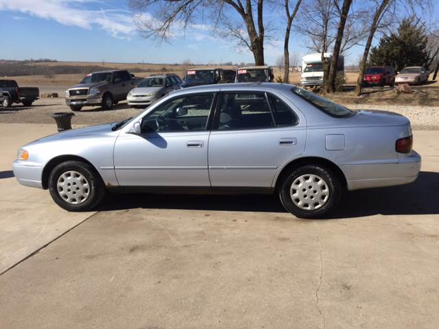 1996 Toyota Camry for sale at TOWN & COUNTRY MOTORS INC in Meriden KS