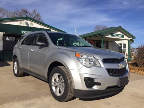 2010 Chevrolet Equinox for sale at TOWN & COUNTRY MOTORS INC in Meriden KS