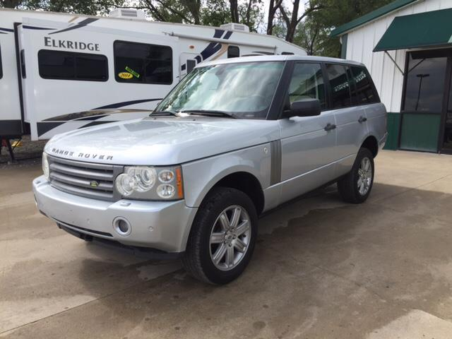 2007 Land Rover Range Rover for sale at TOWN & COUNTRY MOTORS INC in Meriden KS