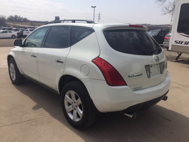 2006 Nissan Murano for sale at TOWN & COUNTRY MOTORS INC in Meriden KS
