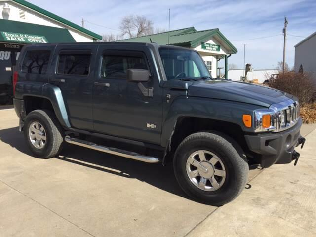 2007 HUMMER H3 for sale at TOWN & COUNTRY MOTORS INC in Meriden KS