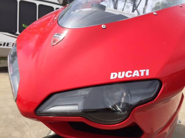 2008 Ducati 848 for sale at TOWN & COUNTRY MOTORS INC in Meriden KS