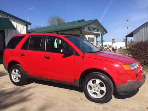 2003 Saturn Vue for sale at TOWN & COUNTRY MOTORS INC in Meriden KS