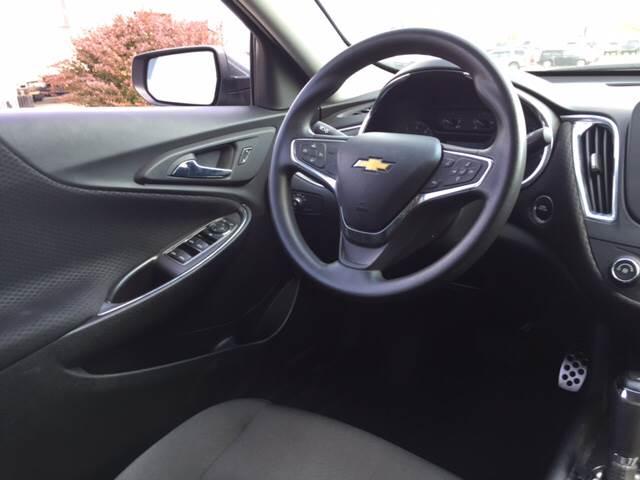 2016 Chevrolet Malibu for sale at TOWN & COUNTRY MOTORS INC in Meriden KS