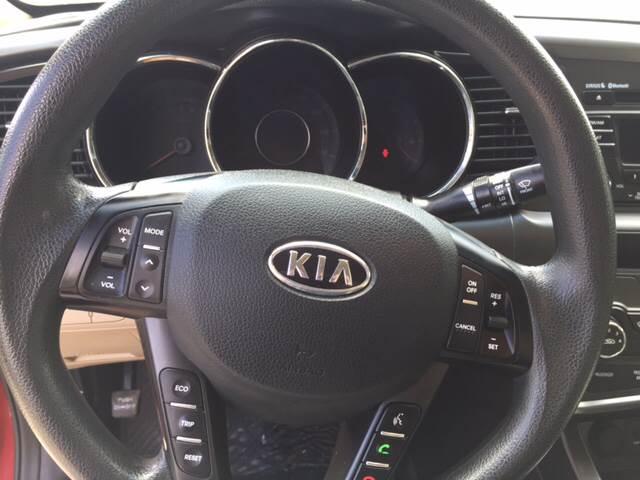 2012 Kia Optima for sale at TOWN & COUNTRY MOTORS INC in Meriden KS
