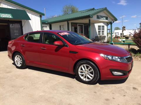 2012 Kia Optima for sale at TOWN & COUNTRY MOTORS INC in Meriden KS