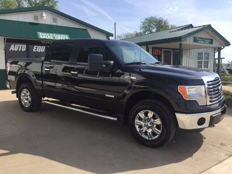 2012 Ford F-150 for sale at TOWN & COUNTRY MOTORS INC in Meriden KS