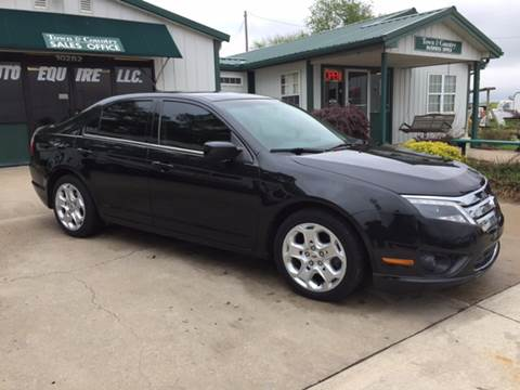 2010 Ford Fusion for sale at TOWN & COUNTRY MOTORS INC in Meriden KS