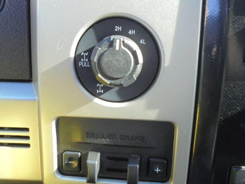 2012 Ford F-150 4x4 FX4 4dr SuperCrew Styleside 6.5 ft. SB - Hanford CA