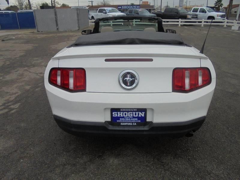 2010 Ford Mustang V6 Premium 2dr Convertible - Hanford CA