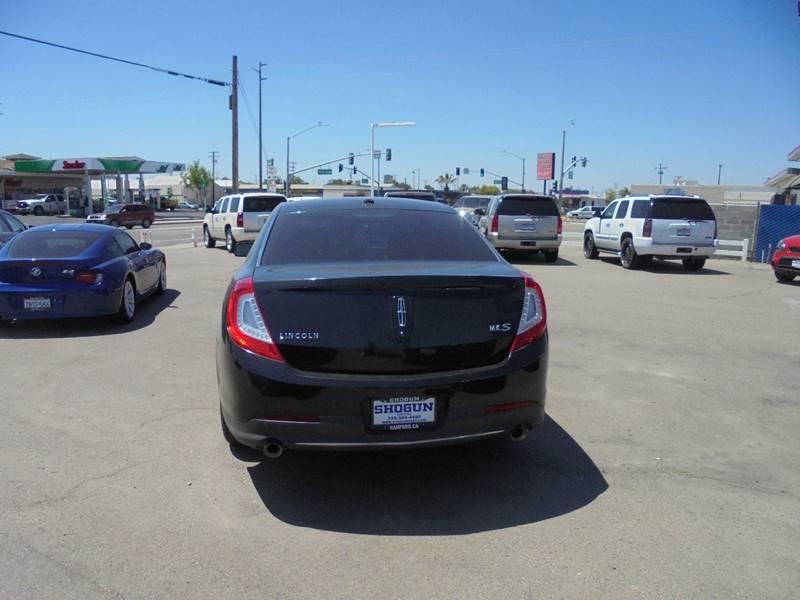 2013 Lincoln MKS 4dr Sedan - Hanford CA