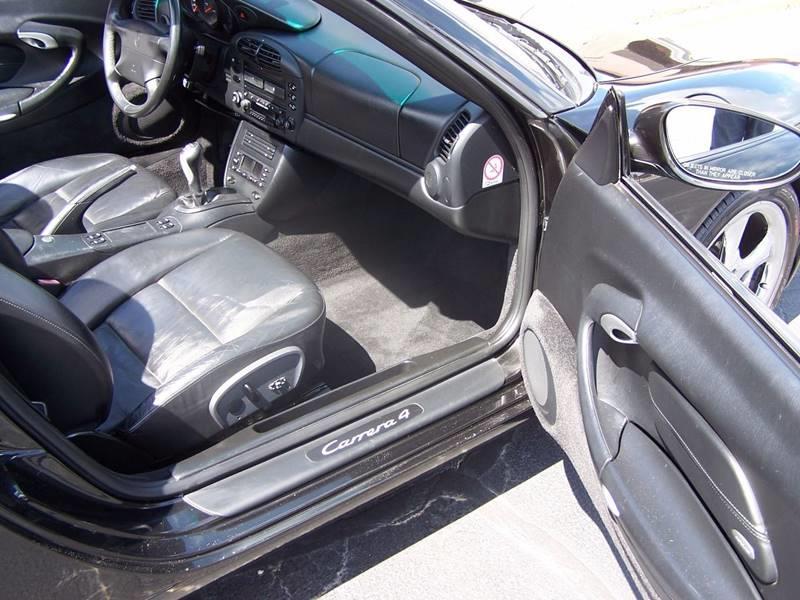 2001 Porsche 911 AWD Carrera 4 2dr Cabriolet - Tulsa OK