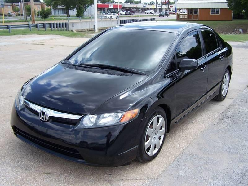2007 Honda Civic LX 4dr Sedan (1.8L I4 5A)   Tulsa OK
