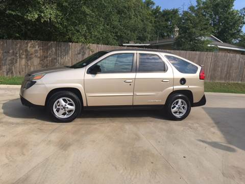 2003 Pontiac Aztek for sale at H3 Auto Group in Huntsville TX