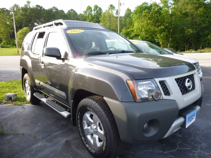 2012 Nissan Xterra 4x4 S 4dr SUV 5A - Havelock NC