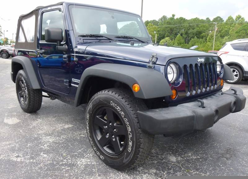 2013 Jeep Wrangler 4x4 Sport 2dr SUV - Havelock NC