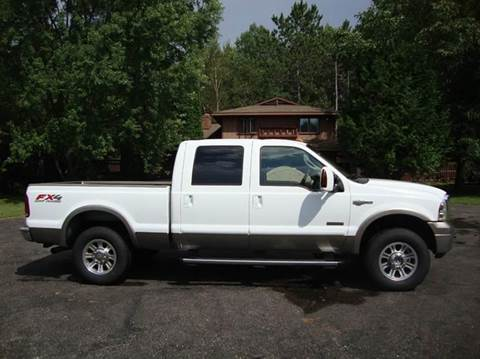 2006 Ford F-250 for sale at G and G AUTO SALES in Merrill WI