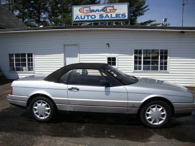 1992 Cadillac Allante for sale at G and G AUTO SALES in Merrill WI