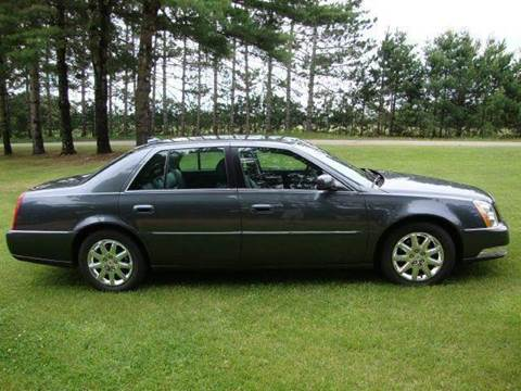 2011 Cadillac DTS for sale at G and G AUTO SALES in Merrill WI