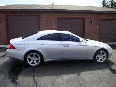 2006 Mercedes-Benz CLS-Class for sale at G and G AUTO SALES in Merrill WI