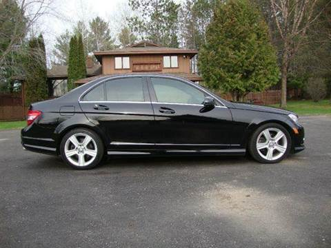 2010 Mercedes-Benz C-Class for sale at G and G AUTO SALES in Merrill WI