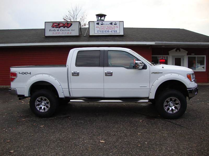 2013 ford f 150 xlt 4x4 4dr supercrew styleside 5 5 ft sb in merrill wi g and g auto sales. Black Bedroom Furniture Sets. Home Design Ideas