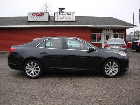 2015 Chevrolet Malibu for sale at G and G AUTO SALES in Merrill WI