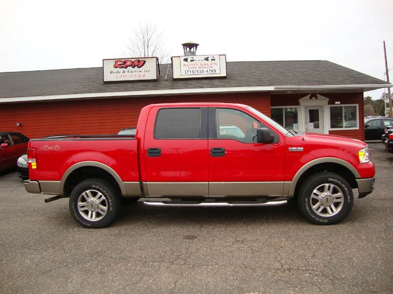 Ford F Lariat Dr SuperCrew WD Styleside Ft SB In - 2005 f150