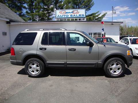 2003 Ford Explorer for sale in Merrill, WI
