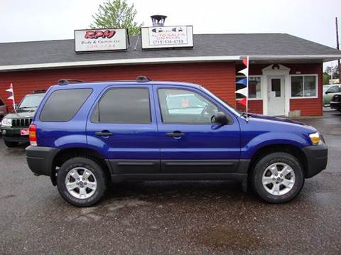 2006 Ford Escape for sale at G and G AUTO SALES in Merrill WI