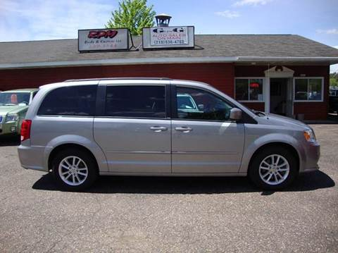 2014 Dodge Grand Caravan for sale at G and G AUTO SALES in Merrill WI