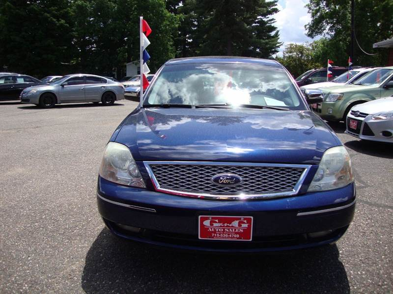 2006 ford five hundred limited awd 4dr sedan in merrill wi g and g auto sales. Black Bedroom Furniture Sets. Home Design Ideas