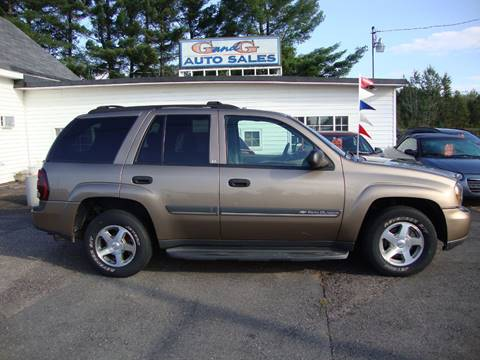 2002 Chevrolet TrailBlazer for sale in Merrill, WI