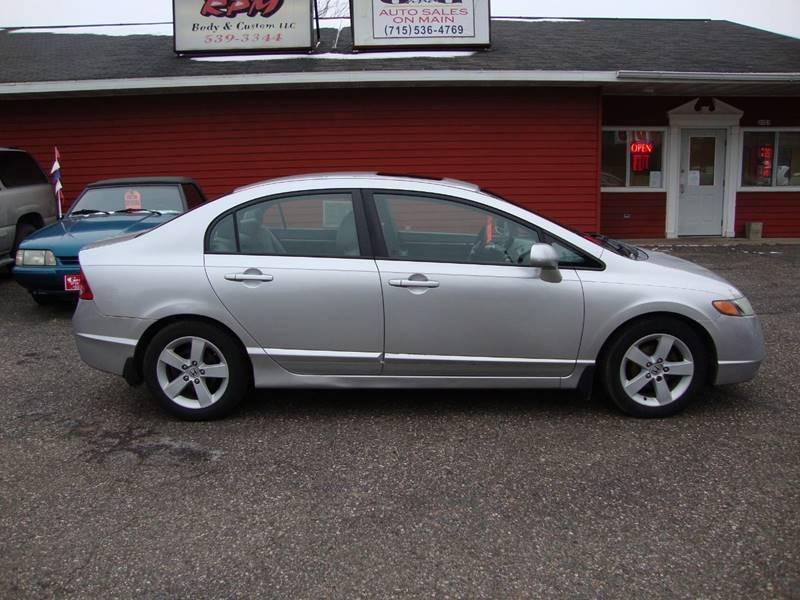 Attractive 2006 Honda Civic EX 4dr Sedan W/Manual   Merrill WI